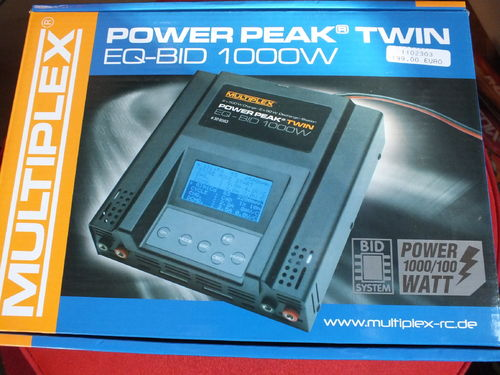 Power Peak Twin 1000W 12/24V Multiplex 308563