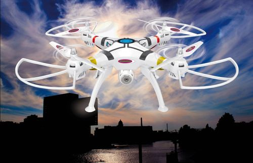 Payload Altitude Wifi HD Quadrocopter Jamara 422013