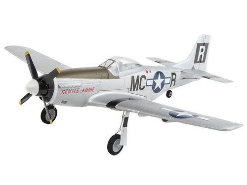 P-51D Brushless AS3X BNF Basic E-flite UMX 094EFLU3350